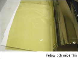 Yellow polyimide film